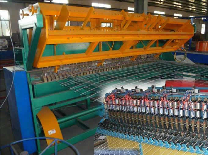 Curved Mesh Fence Machine