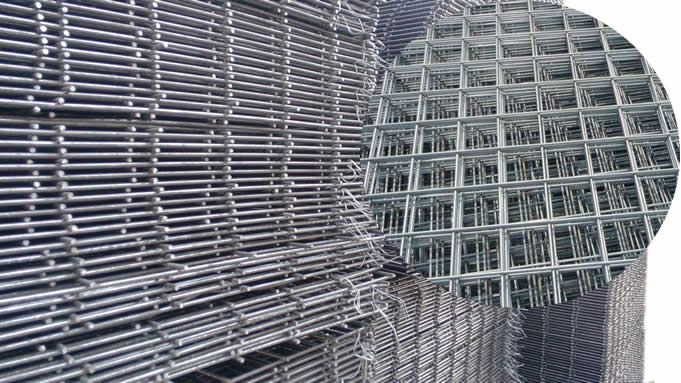 Carbon Steel Welded Mesh Reinforcing Fabric For Precast
