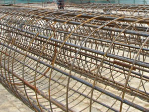 9 m Short Pile Cages