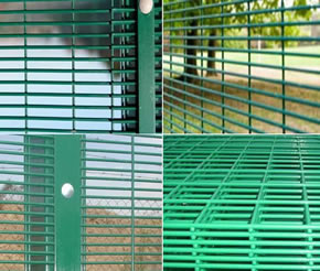 Narrow Aperture Finger Proof Fence