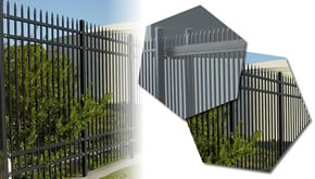 Perimeter Fencing Panels for Villa and Residences