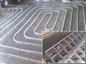 Building Heating System Construction Mesh Nets