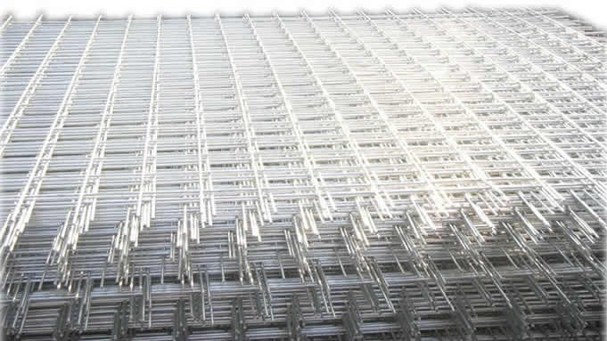 Square Hole Wire Nets for Building Construction