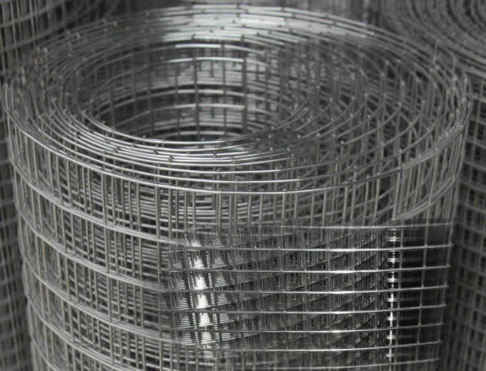 Stainless Mesh Firmly Welded for Fabricating of Wire Container Cages
