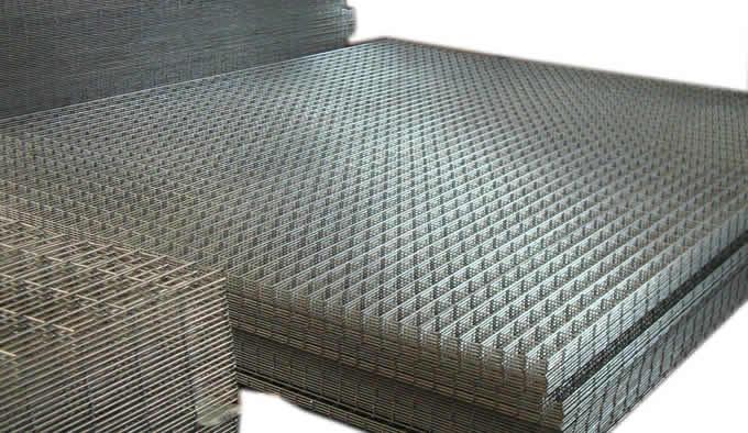 Galvanized Wire Mesh Panels For Slab Floor Radiant Heating