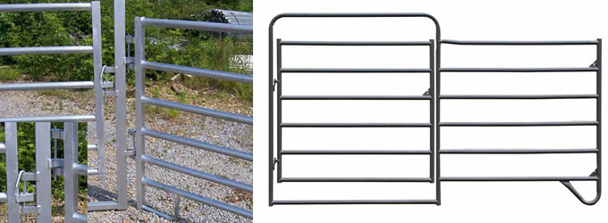 Tubular Guard Rails for Field Farming